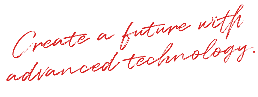 Create a future with advanced technology.